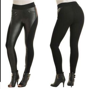 Nygard slims faux leather leggings